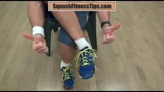 The Squash Fitness Shoelaces Secret To Avoid Black Toenails!