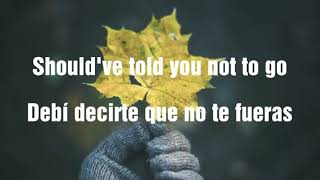 Shawn Mendes - Because I Had You (Lyrics español / inglés)