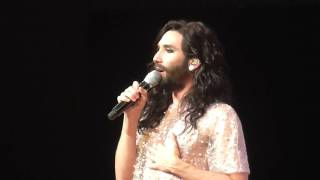 Conchita Wurst - Unstoppable (live at Eurovision Gala Night Luxembourg 2016)