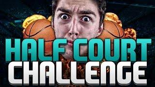 CRAZY HALF COURT CHALLENGE! NBA 2K15 MY TEAM VS NICKTHEBULLSFAN