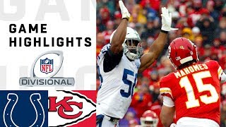 Colts vs. Chiefs Divisional Round Highlights | NFL 2018 Playoffs