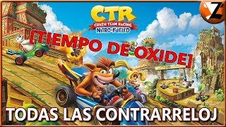 Crash Team Racing Nitro-Fueled: Todos los Fantasmas de Oxide derrotados [TODAS LAS CONTRARRELOJ]