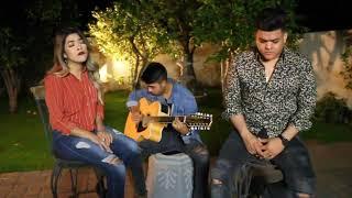 Pienso En Ti ❤️ (Cover) - Joss Favela y Becky G | Tony Santos y Diana Santos