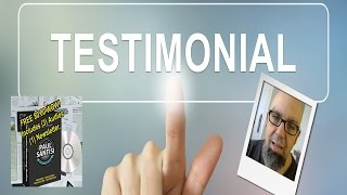 REAL TESTIMONIAL Paul Santisi Mentoring Audios & Newsletters Jamie Stagner