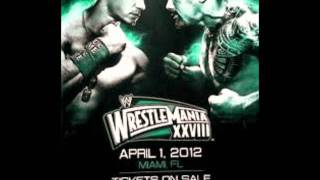 WWE WrestleMania 28 Theme Song By Machine Gun Kelly