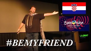 Jacques Houdek: Comedy Sketch! (Croatia) Eurovison 2017