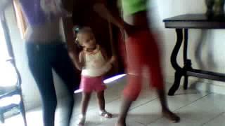 chantal la chiquita bailando amara la negra
