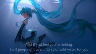 Nightcore - Cold Water (Major Lazer, Justin Bieber, MØ) + LYRICS