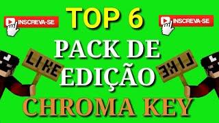 TOP 6: PACK DE EDIÇÃO ( CHROMA KEY EFEITOS) Com FUNDO Verde - vídeo extra #03