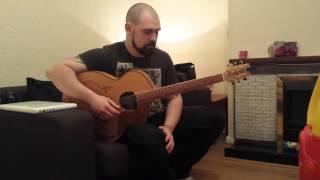 basic acoustic  guitar percussion bass technique