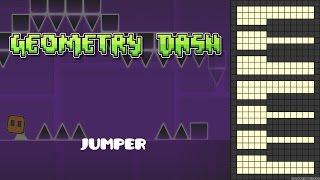Geometry Dash - Jumper [Piano Cover]