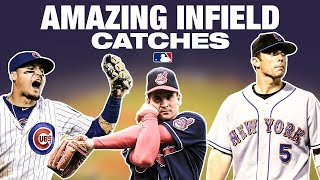 Some of the most insane Infield Grabs ever!