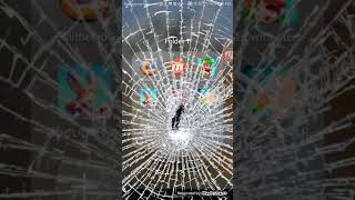omg screen broke prank!!!!!