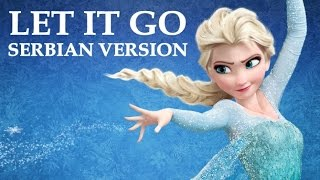 Frozen - Let It Go (Serbian Version) - Sad je kraj (Lyrics)