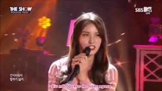 [PT-BR] Wooshin e Somi ( I.O.I )- 'Dream' cover Legendado