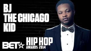 "BJ The Chicago Kid Speaks On The Success of ""Studio"" At The 2014 BET Hip-Hop Awards"