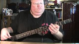 Foreigner Cold as Ice Bass Cover