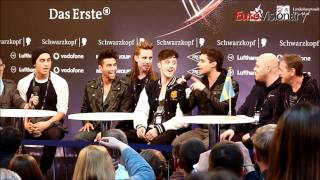 Eric Saade - Popular - Eurovision 2011 - Sweden - Live from first press conference
