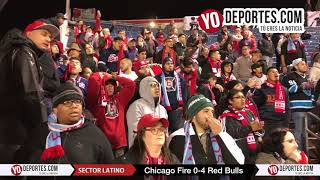 Sector Latino Chicago Fire vs. NY Red Bulls Knockout Round Playoffs