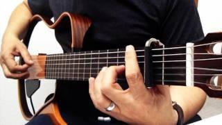 Gitar ile HASRETINLE YANDI GÖNLÜM Cover