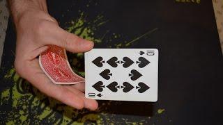 خدع الورق - حركة تغيير لون الكرت 1