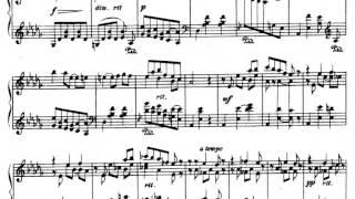 Scriabin, Waltz in F minor op. 1 (1886)