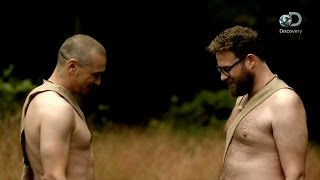 Seth Rogen and James Franco Get Naked And Afraid