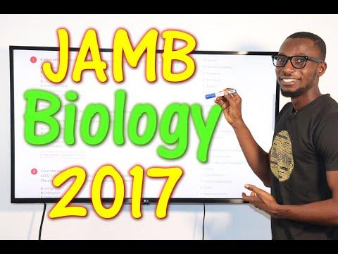 JAMB CBT Biology 2017 Past Questions 1 - 20
