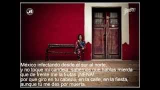 Hispana (letra) soy veneno feat Muelas de Gallo