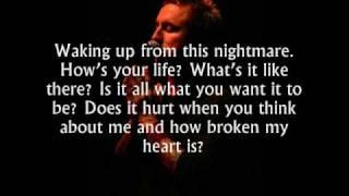 Yellowcard - Empty Apartment [Stripped Acoustic Set '06 + Lyrics]