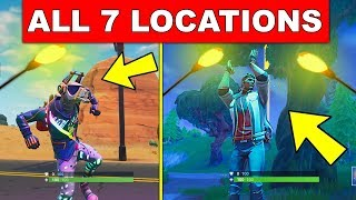 """Dance Under Different Streetlight Spotlights"" – ALL 7 LOCATIONS WEEK 1 CHALLENGES FORTNITE SEASON 6"