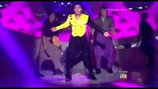 Thomaz Costa no Dance se Puder interpretando MC Hammer - U Can't Touch This