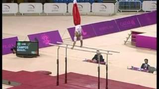 Manuel Campos POR - Paralelas - Doha 2009