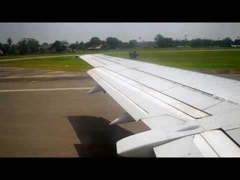 Kenya Airways Boeing 737-300 Departure From Mombasa