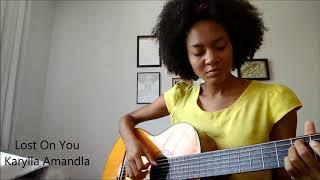 Lost On You - Karylla Amandla (LP Cover)