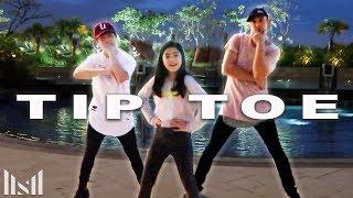 TIP TOE - Jason Derulo Dance ft Ranz & Niana   Matt Steffanina Choreography