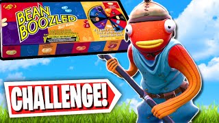 The Fortnite BEAN BOOZLED Parkour Challenge *NASTY Flavors*  (Fortnite Creative Mode)