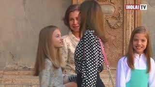 Revuelo por video de la Reina Letizia y la Reina Sofía en la misa de Pascua | La Hora ¡HOLA!