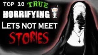 10 TRUE let's not meet stories featuring Mortis Media