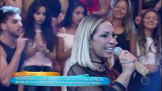 Valesca Popozuda canta o novo sucesso Pimenta no Hora do Faro