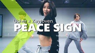 Usher x Zaytoven - Peace Sign / HAZEL Choreography.