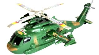 Amazing Helicopter for kids Green Helicopter toy for Children | playkidstoys