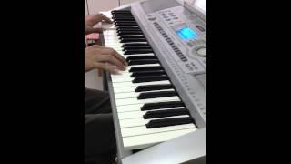 電子琴演奏-月亮代表我的心