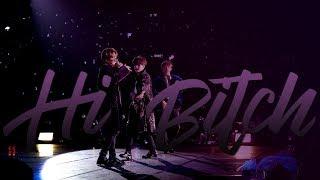 bts | rap line — hi bitch