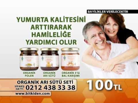 BiTKiDEN ORGANiK ARI SÜTÜ - www.bitkiden.com