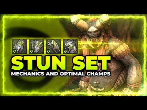 RAID Shadow Legends | STUN Set Mechanics and Optimal Champs!