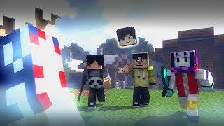 4 Brothers BATTLE ROYALE! | Minecraft Animation
