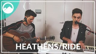 Twenty One Pilots - Heathens // Ride - Mashup Cover by ROLLUPHILLS & Shaun Reynolds