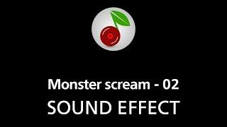 🎧 Monster scream - 02, SOUND EFFECT