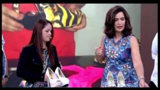 Encontro com Fátima Bernardes com Kamila Pádua Criadora da Capa para Sapato